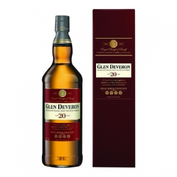 WHISKY GLEN DEVERON 20 ANI 1L